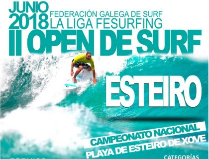La LigaFesurfing llega a Galicia con la tercera prueba