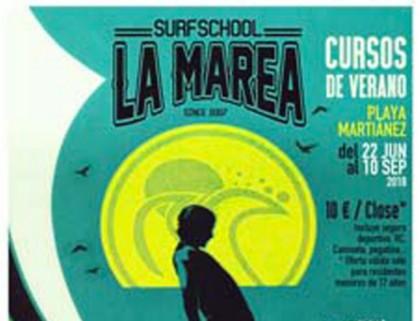 La Marea Surf School vuelve este verano con sus campamentos