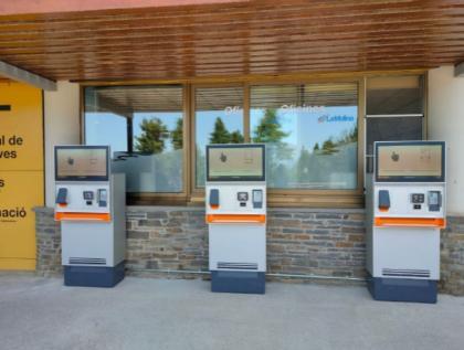 La Molina instala nuevas máquinas autoventa de billetes y forfaits