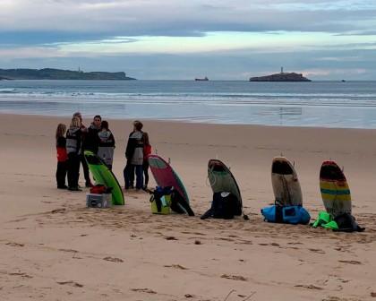 La VII edición del curso de entrenador de surf de la FCS