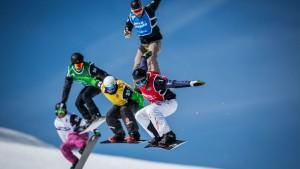 Las copas de Andalucía de esquí alpino y freestyle