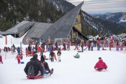 Las estaciones del Grup FGC alargan la temporada de invierno
