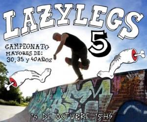 Lazy Legs 5, campeonato para mayores de 30, 35 y 40