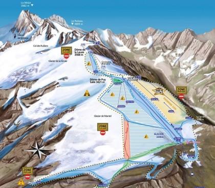 Les 2 Alpes se prepara para el esquí de verano