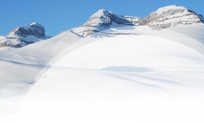 Los Espacios Nórdicos de Aragón reciben nieve