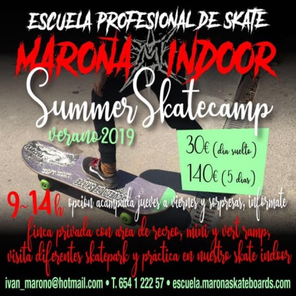 Maroña Indoor summer camps