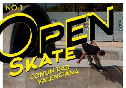 OPEN en el skatepark de Beteró