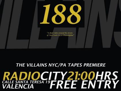 Presentación del vídeo 188 de Villains en Valencia