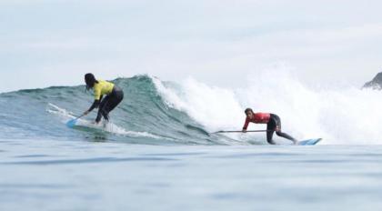 Primer día del Campeonato de España de Surf 2020