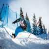 Primer dia Vintage Snowboard en Austria