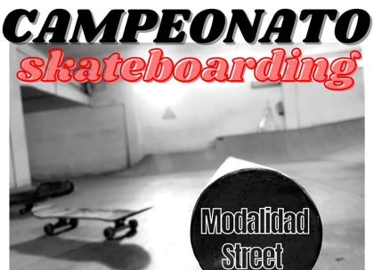 Primera prueba del circuito junior de Skate Galicia