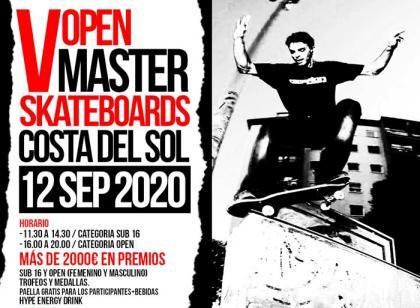 Quinta edición del Open Master Skateboards Costa del Sol