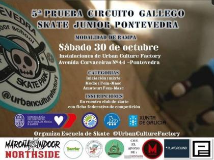 Quinta prueba del circuito gallego de Skate junio