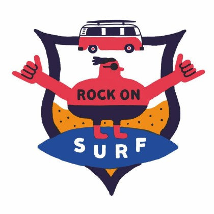 Rock on Surf en la playa de Anglet