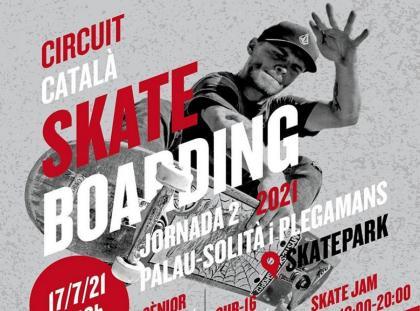 Segunda prueba del Circuito Catalán de Skate,en Palau-solitá