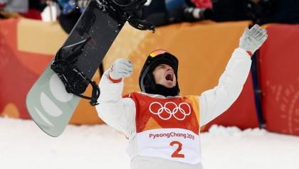 Shaun White gana el oro en el Halpipe de Pyeonochang