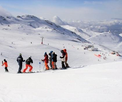 Sierra Nevada alcanza los 97 kilómetros esquiables