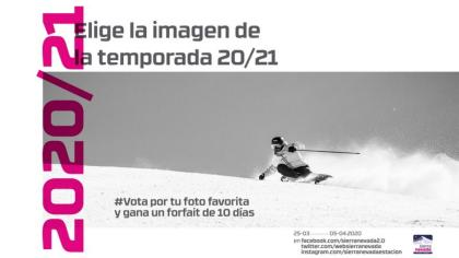 Sierra Nevada elige la imagen de la temporada 2020/21