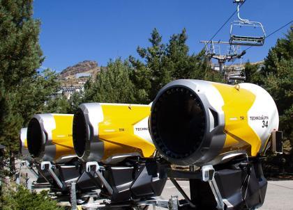 Sierra Nevada incorpora un total de 77 cañones