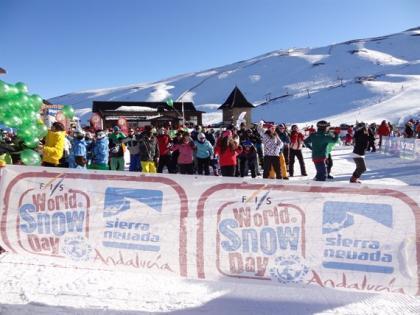 Sierra Nevada con más de 70 kilómetros esquiables