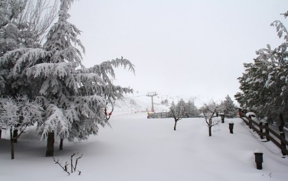 Sierra Nevada registra 50 centímetros de nieve nueva en 48 horas
