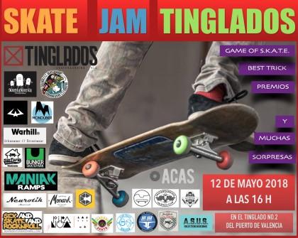 Skate Jam en Tinglados