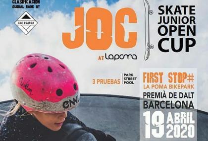 Skate junior open cup en La poma bikepark