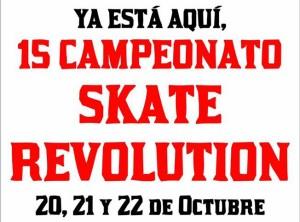 Skate Revolution en el skatepark de Villarreal
