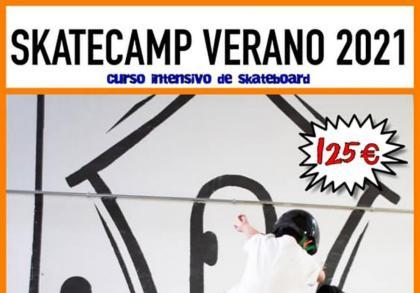 Skatecamp organizado por Inpark Valdemoro
