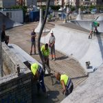 El Skatepark de Somo casi a punto