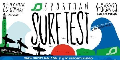 SportJam Surftest en Anglet