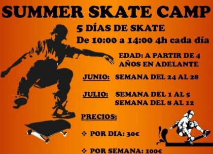 Summer Skate camps 50-project indoor skatepark madrid