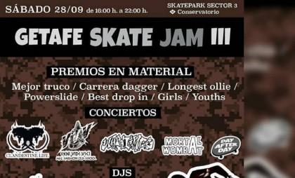 Tercera edición del Getafe Skate Jam