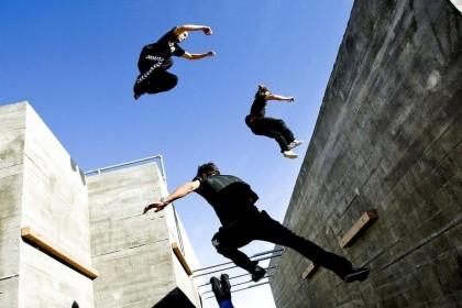 Torneo Parkour en el Urbans Festival Aplazado