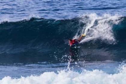 Última prueba del Circuito Canario Open de Surf