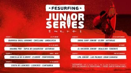 Una nueva edición del Fesurfing Junior series