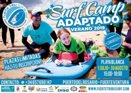 Verano 2019 Surf Adaptado en Playa Blanca, Puerto del Rosario