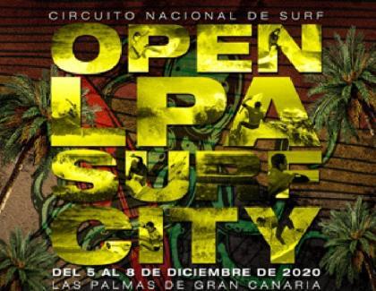 Vuelve el Open lpa surf city en la playa de la Cicer