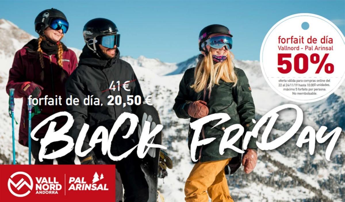 Vallnord-Pal Arinsal vuelve a celebrar el Black Friday