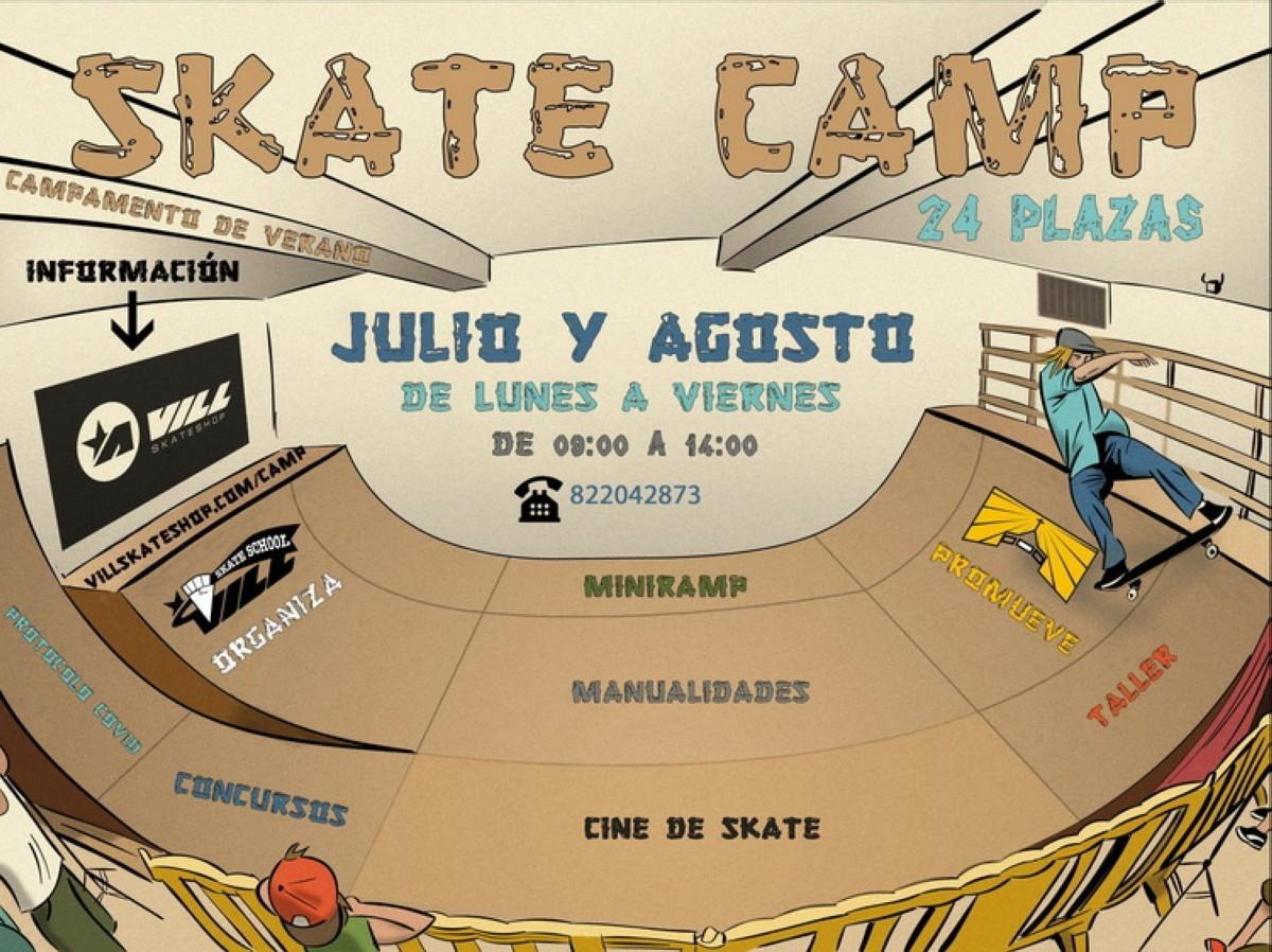 Vill Skateschool Camp