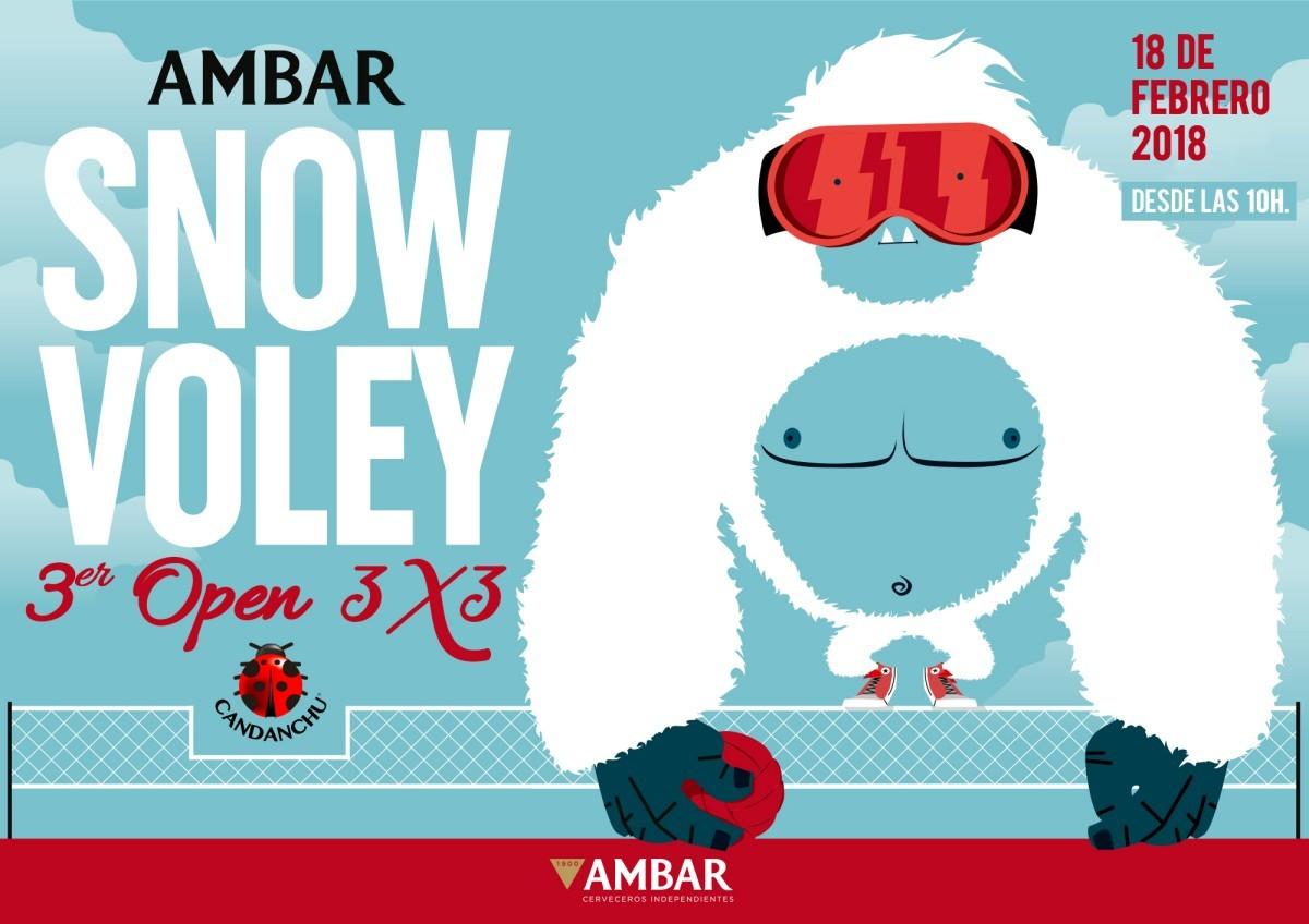 Vuelve a Candanchú el Open Ambar Snow Voley