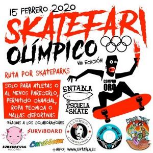 Vuelve el skatefari, el evento más esperado y gamberro