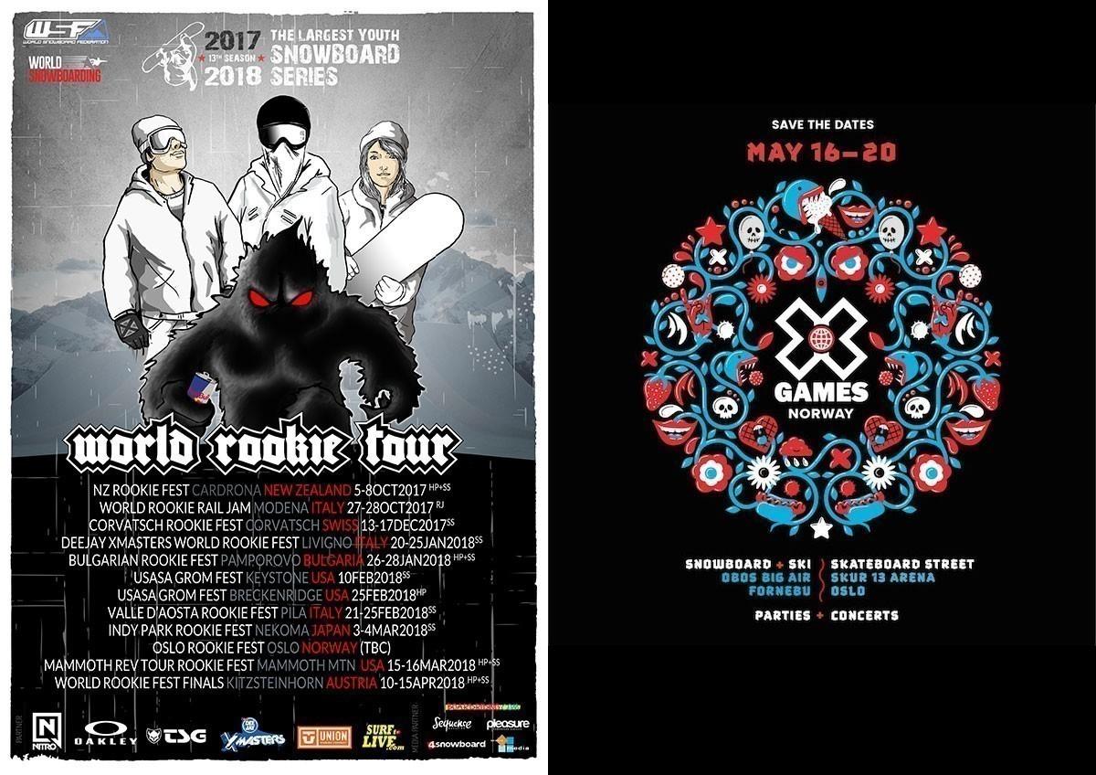 World Rookie Tour coopera con X Games Norway 2018