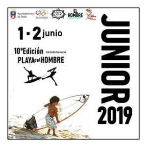 X Edición Playa del Hombre Junior Telde 2019