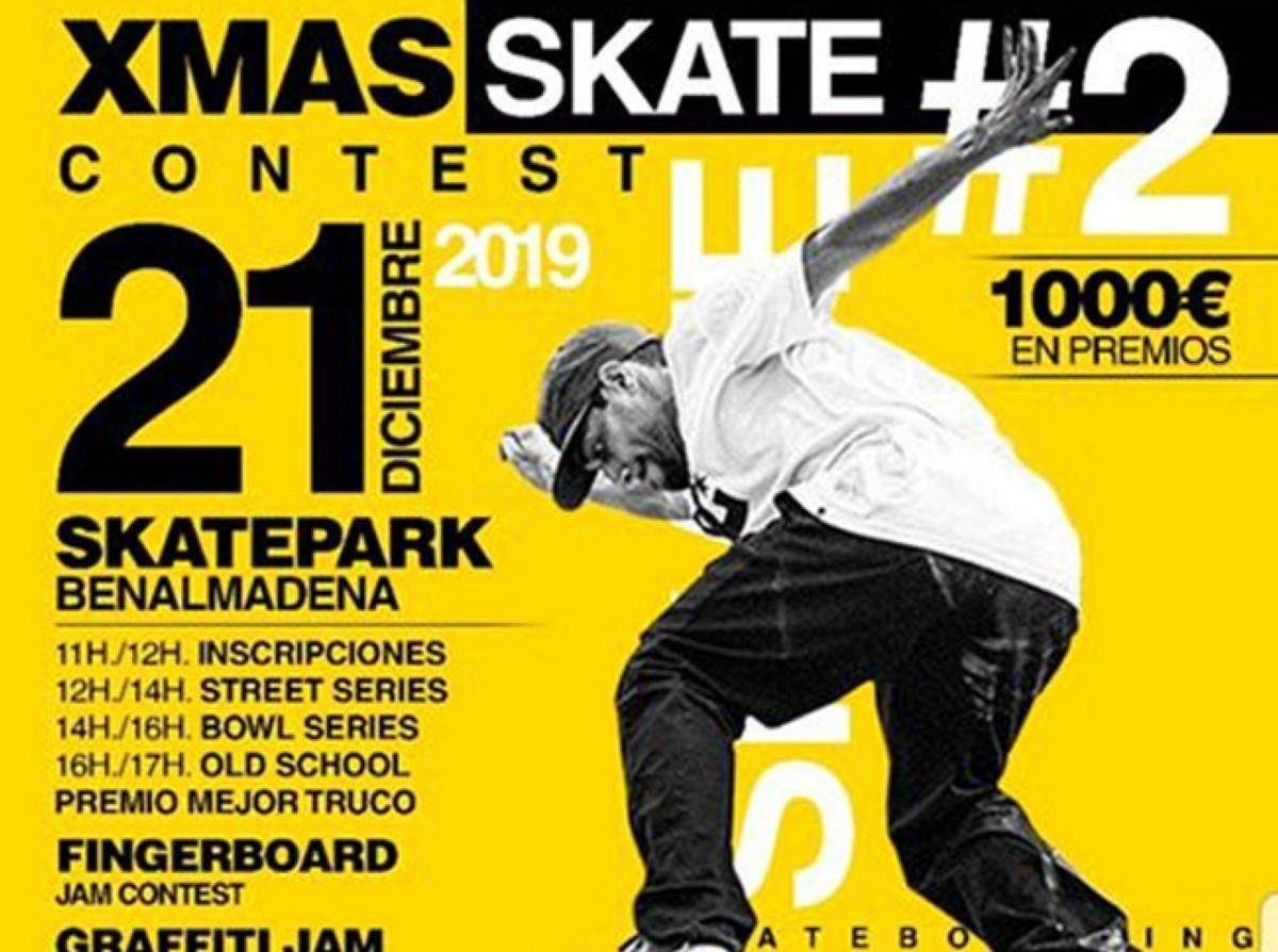 XMAS Skate Contest en Benalmadena