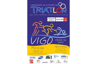 Un total de 925 triatletas se daran cita en Vigo