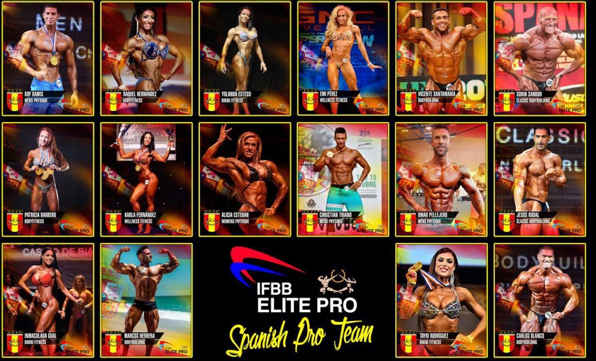 34 atletas forman el Equipo de Elite Pro