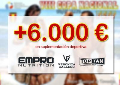 6000 euros en premios para los Campeones Absolutos