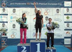 TRIATLÓN-Copa de Europa de Pontevedra María Pujol, 8ª