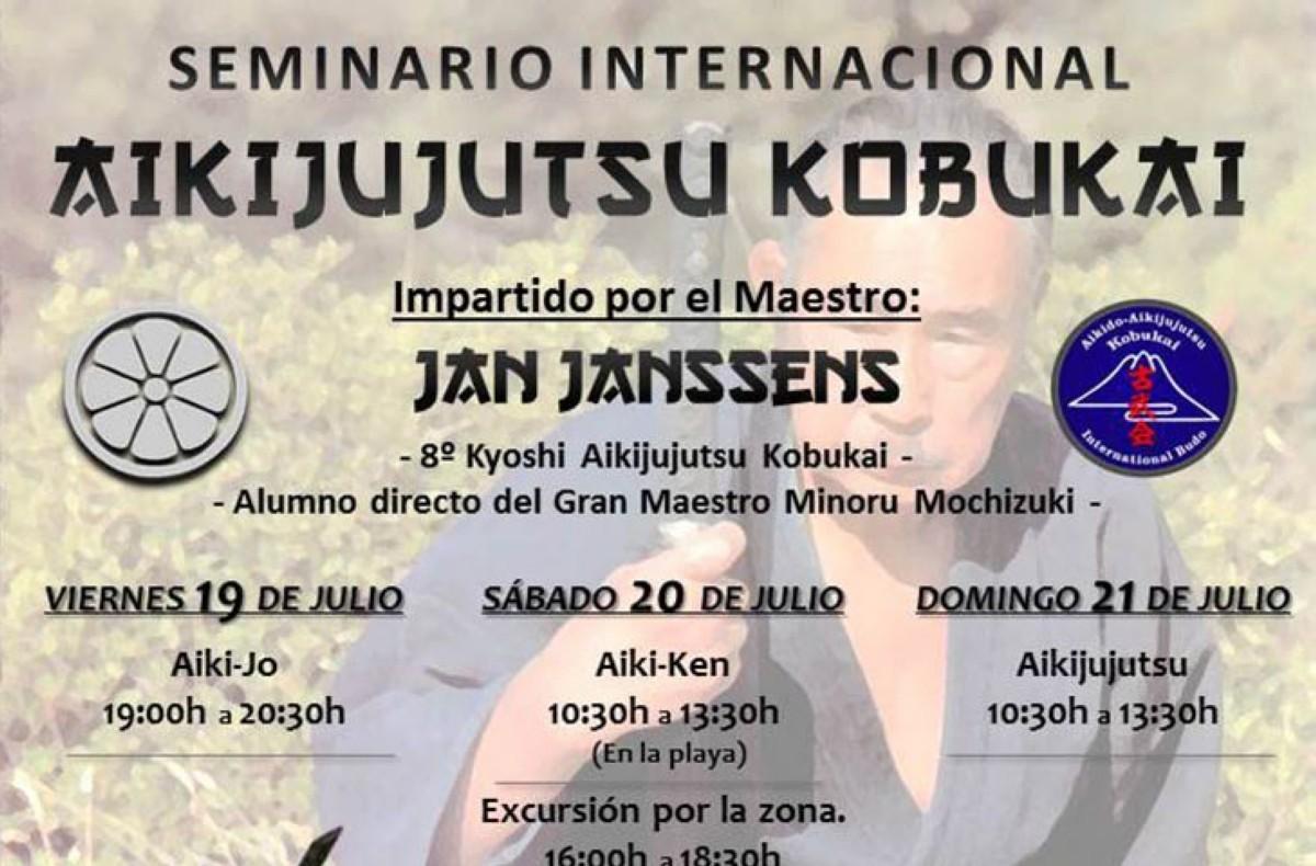 Aiki Ju Jutsu Kobukai con el Sensei Jan Janssens